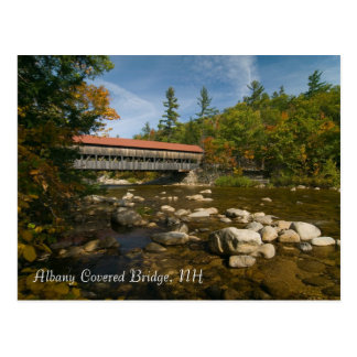 Albany Covered Bridge, NH     Postcard