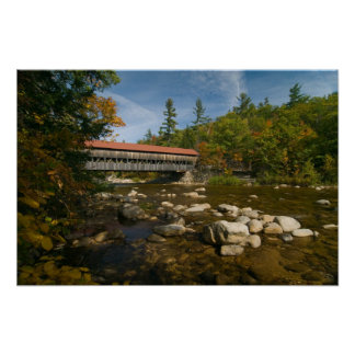 Albany Covered Bridge, NH  Print