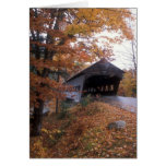 Albany Covered Bridge White Mountains Card
