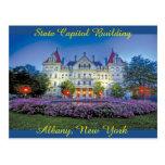 Albany, edificio del capitolio de NY Postales