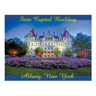 Albany, edificio del capitolio de NY Postal