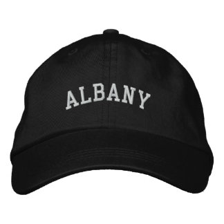 Albany Embroidered Baseball Hat