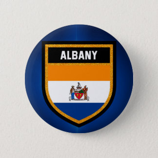 Albany Flag Button