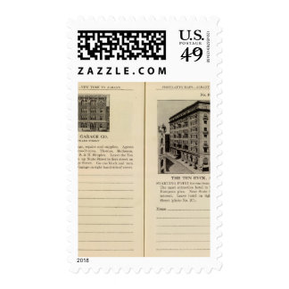 Albany Garage The Ten Eyck Stamps