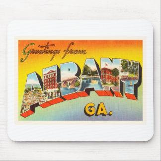 Albany Georgia GA Old Vintage Travel Postcard- Mouse Pad