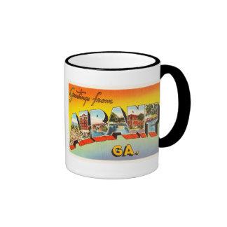 Albany Georgia GA Old Vintage Travel Postcard- Ringer Mug
