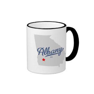 Albany Georgia GA Shirt Ringer Mug