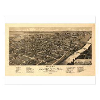 Albany Georgia in 1885 Post Cards