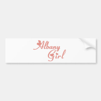 Albany Girl tee shirts Bumper Stickers