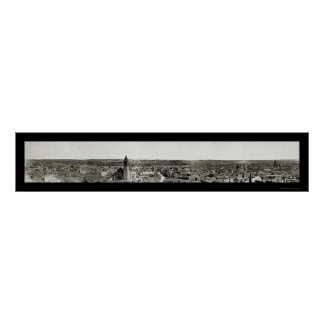 Albany Hudson River Photo 1906 Poster