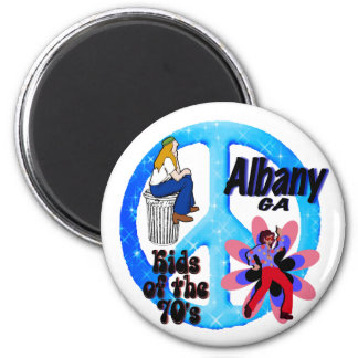 Albany Kids of the 70's magnet