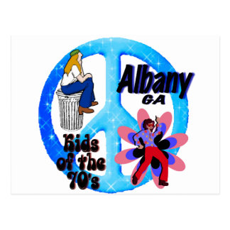 Albany Kids of the 70's Postcard