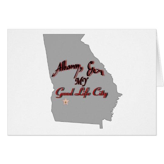 Albany - MY Good Life City Card
