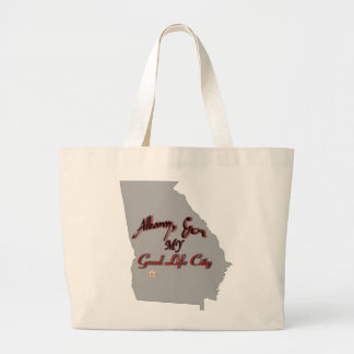 Albany - MY Good Life City Large Tote Bag