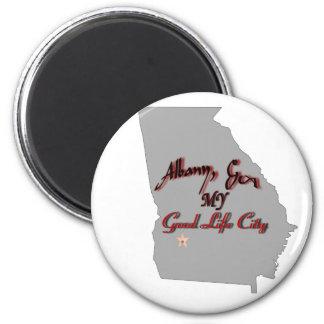 Albany - MY Good Life City Magnet