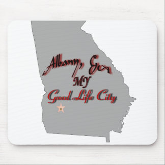 Albany - MY Good Life City Mouse Pad