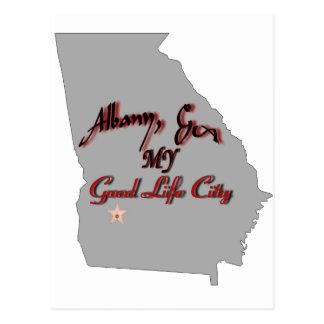 Albany - MY Good Life City Postcard