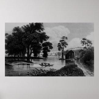 Albany, New York 1846 Poster