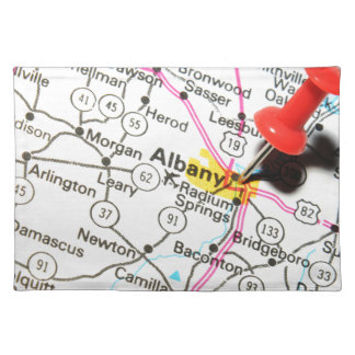 Albany, New York Cloth Placemat