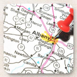 Albany, New York Drink Coaster
