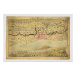 Albany New York Early Map 1758 Print