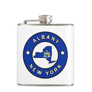 Albany New York Flask
