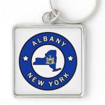 Albany New York Keychain