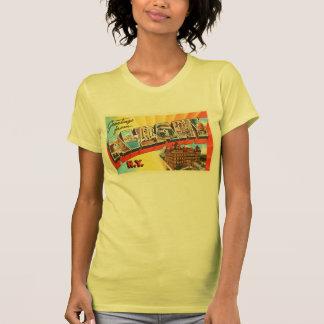 Albany New York NY Old Vintage Travel Souvenir Shirt