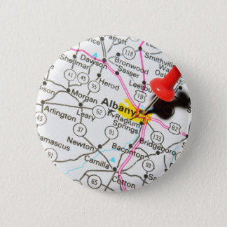 Albany, New York Pinback Button