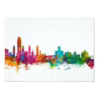 Albany New York Skyline Card