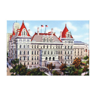 Albany New York State Capitol Canvas Print