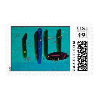 Albany NY postage stamp