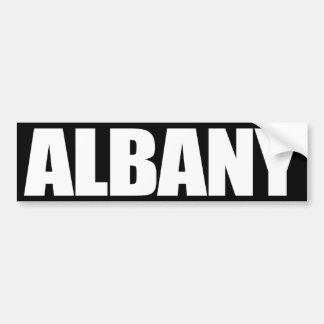 Albany Pegatina Para Auto