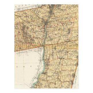 Albany, Rensselaer, Columbia counties Postcard
