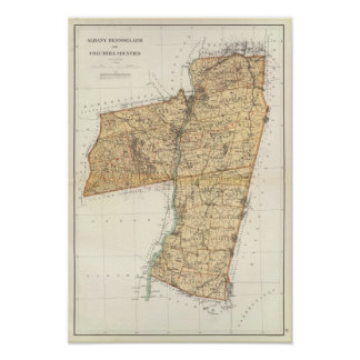 Albany, Rensselaer, Columbia counties Poster