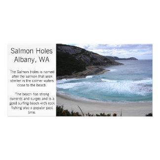Albany - Salmon Holes photo card