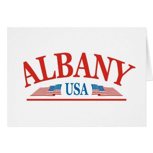 Albany Tarjeta De Felicitación