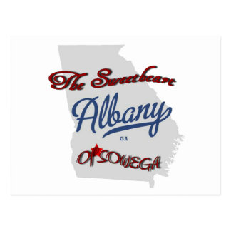 Albany ~ The Sweetheart of SOWEGA Postcard