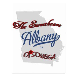 Albany - The Sweetheart of Sowega Postcard