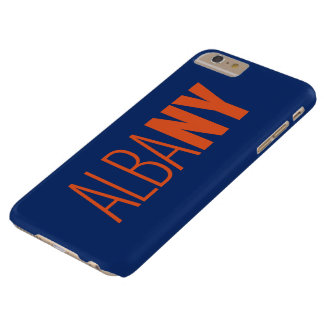 AlbaNY typographic iPhone case Barely There iPhone 6 Plus Case
