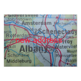 Albany We've Moved New Address Announcement