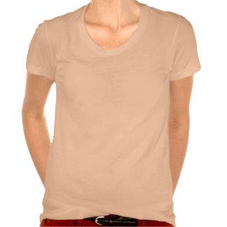 Albaricoque acuático del Seahorse Camisetas