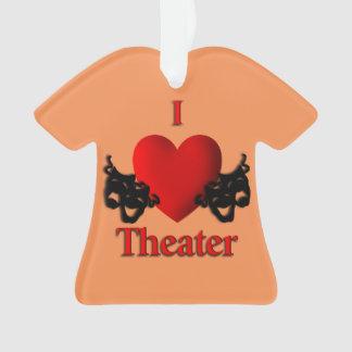 Albaricoque de las máscaras del teatro de la