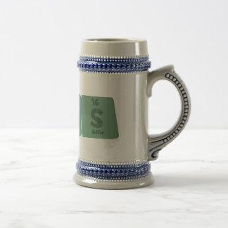 Albas-Al-Ba-S-Aluminium-Barium-Sulfur Beer Stein