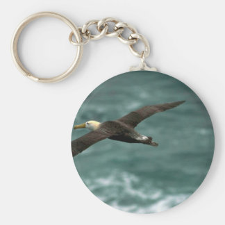 Albatros agitado en vuelo llaveros