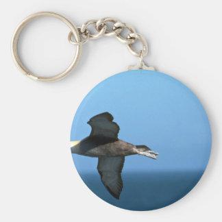 Albatros agitado en vuelo llavero