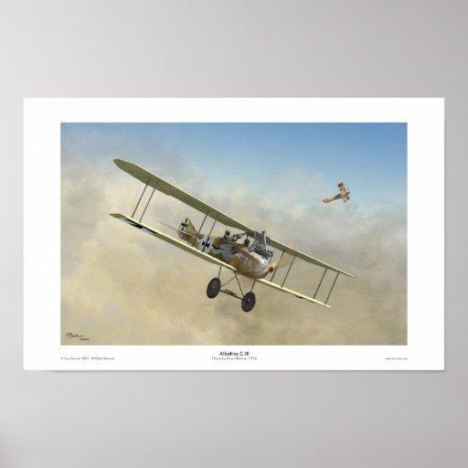 Albatros C.III Posters