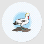 Albatros de Arnold Etiqueta Redonda