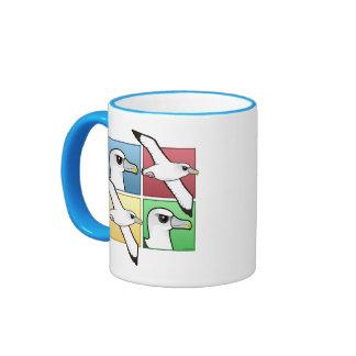 Albatros de cuatro colores taza