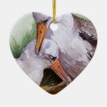 Albatros en el ornamento de la tarjeta del día de  ornamento para reyes magos